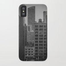 grimy nyc window... Slim Case iPhone X
