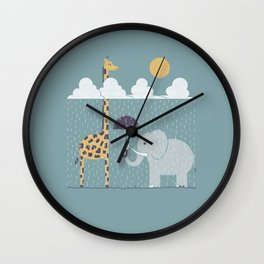 It's Always Sunny Up Here Wall Clock