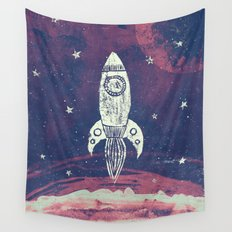 Space Adventure Wall Tapestry
