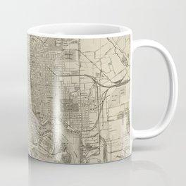 Vintage Map of Baltimore MD (1919) Coffee Mug