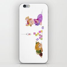 These blocks need to go in a specific order iPhone & iPod Skin
