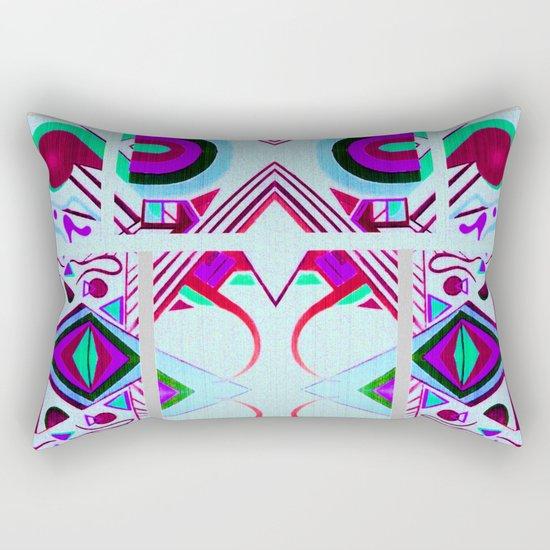 Mandalic Altar II Rectangular Pillow