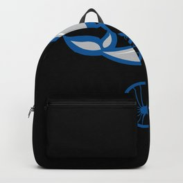 WHALE BIKE Funny Cycling Gift Bicycle Rider Backpack
