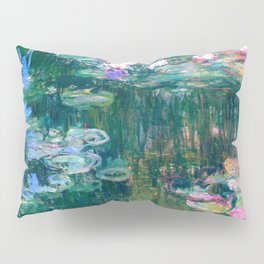 water lilies : Monet Pillow Sham