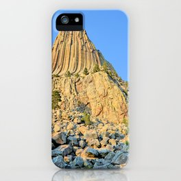 Devils Tower 2 iPhone Case