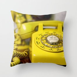 Here's  my number, call me Baby ! Throw Pillow