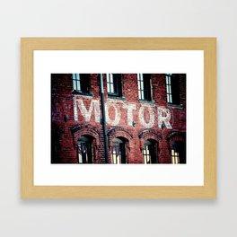 Rev up Framed Art Print
