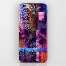 (not so) purple haze iPhone & iPod Skin