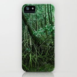 Mangroves in Green iPhone Case