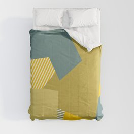 Olive to the Max Comforters