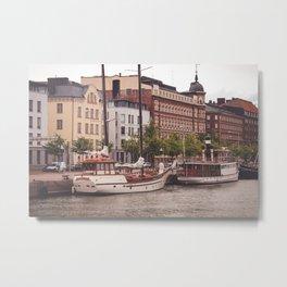Memories from Helsinki Metal Print