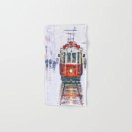 Istanbul Nostalgic Tramway Hand & Bath Towel