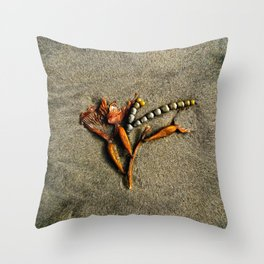 A Sea Sculpture Throw Pillow