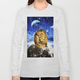 Grumpy Lion Long Sleeve T-shirt