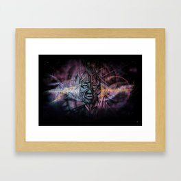Sonic Excursions Framed Art Print