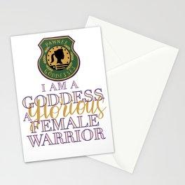 I am a Goddess Stationery Cards