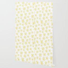 Happy Sunshine Print Wallpaper