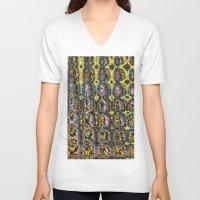 mod V-neck T-shirts featuring Mod by Stephen Linhart