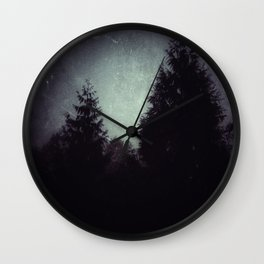 Beyond the Pines Wall Clock