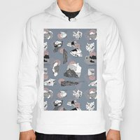 mineral Hoodies featuring Mineral Rocks  by jessicasammondesign