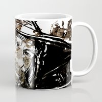 gandalf Mugs featuring Gandalf by Patrick Scullin