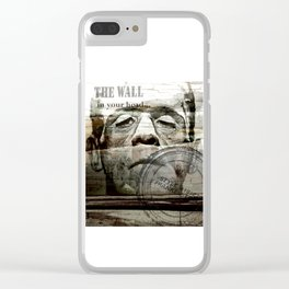 The wall in your head... Clear iPhone Case