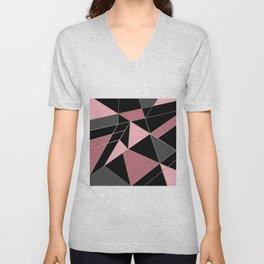 Abstraction . Geometric pattern 3 Unisex V-Neck