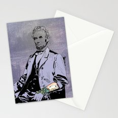Inked Lincoln Stationery Cards