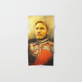 Starlord Guardians Of The Galaxy General Portrait Painting | Fan Art Hand & Bath Towel