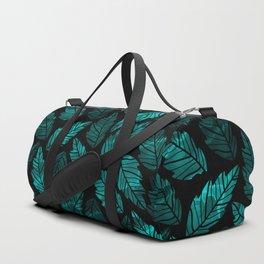Green Leaves Duffle Bag