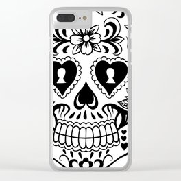 Sugar Skull Art, Sugar Skulls Clear iPhone Case