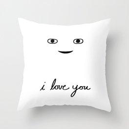 Hi Stranger - i love you Throw Pillow