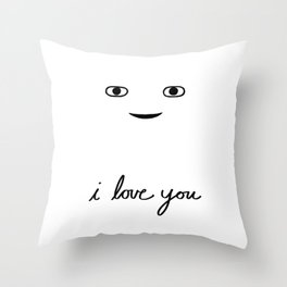 Hi Stranger - i love you Throw Pillow