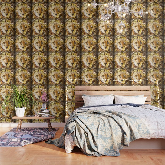 Steampunk Cheetah Wallpaper by simonegatterwe