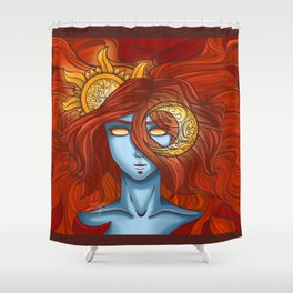 Orbit Shower Curtain