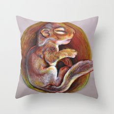 Sciuradae Throw Pillow