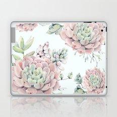 Pink Echeveria #society6 #buyart Laptop & iPad Skin