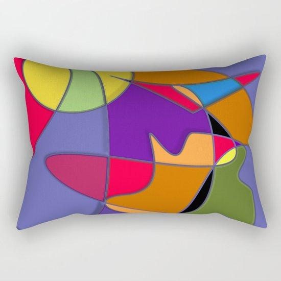 Abstract #34 Natalia Rectangular Pillow