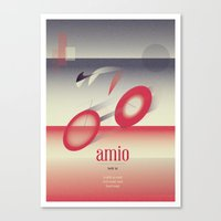 cycling Canvas Prints featuring Cycling by marcus marritt