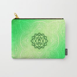 Heart Chakra by Golden Ascension Carry-All Pouch
