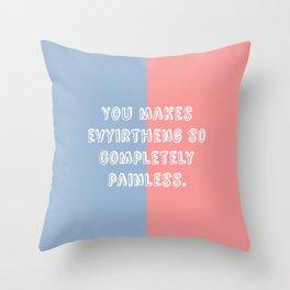 """""""Evyirtheng"""" Throw Pillow"""