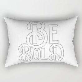 Be Bold! Rectangular Pillow