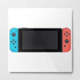 Nintendo Switch Metal Print
