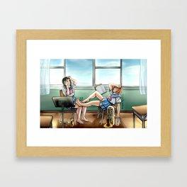 Summer Practice Framed Art Print