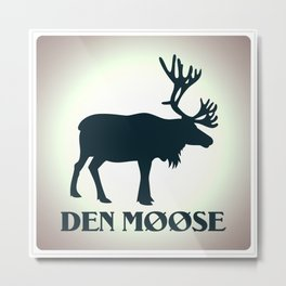 The moose from Scandinavia Metal Print
