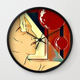 Distant Gaze Wall Clock