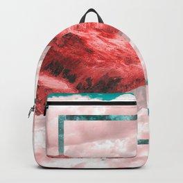 """rectangle hue """"WAELLEI No.1"""" Backpack"""