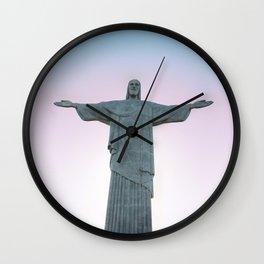 Christ the Redeemer Wall Clock