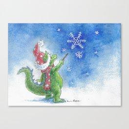 Winter Wizard Canvas Print