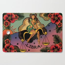Tattoo Libra Cutting Board